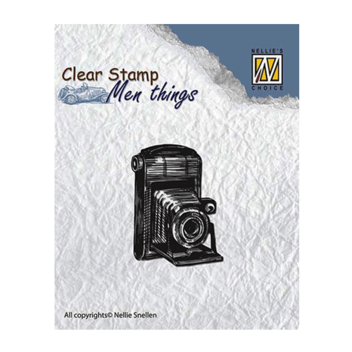 Nellie Snellen Clear Stamps Mens Things - Camera CSMT001