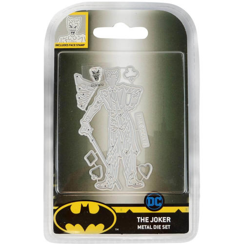 Character World DC Comics - Batman Dies And Face Stamp Set - The Joker DUS3610
