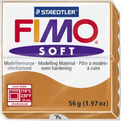 Fimo - Soft Polymer Clay 2oz - Cognac EF8020-76US
