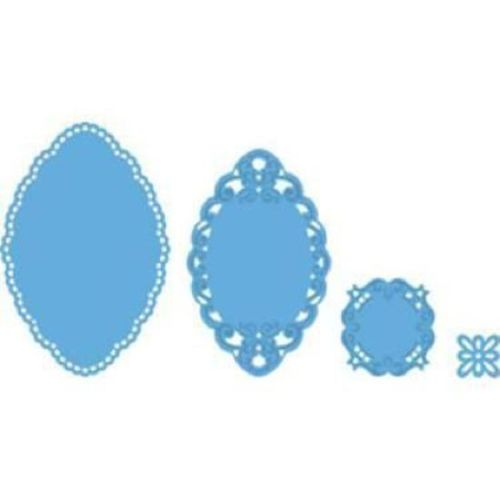Marianne Design - Creatables Dies - Petra's SMALL OVAL LR0235 Set of 4