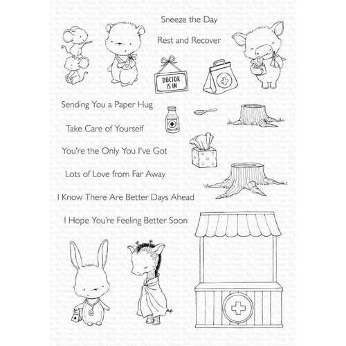 My Favorite Things - Clear Stamps - SY Feel Better