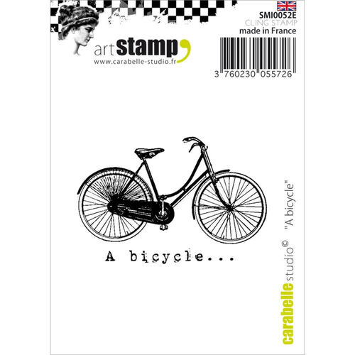 Carabelle Studio Cling Stamp - A Bicycle SMI0052E