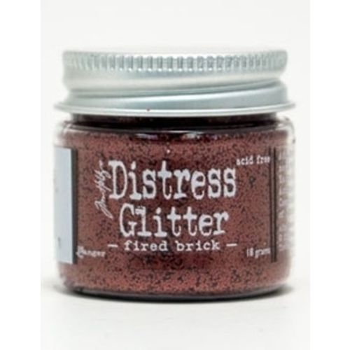 Tim Holtz DISTRESS GLITTER 18 g. - Fired Brick TDG39181