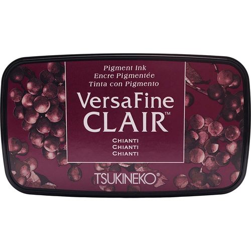 VersaFine Clair Ink Pad - Chianti VFCLA151